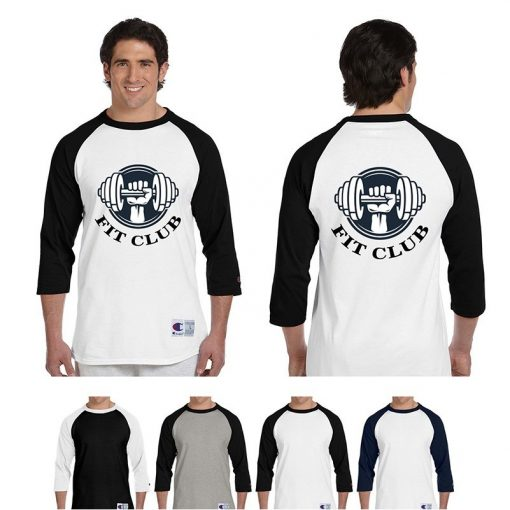 5.2 Oz. Champion® Adult Raglan T-Shirt