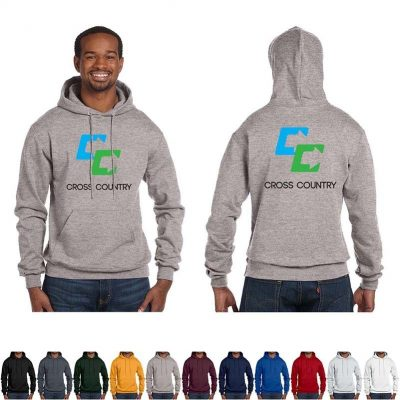 9 Oz. Champion® Adult Double Dry Eco® Pullover Hood Shirt