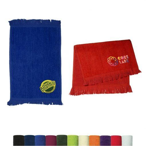 Fingertip Dark Colors Towel (11x18)