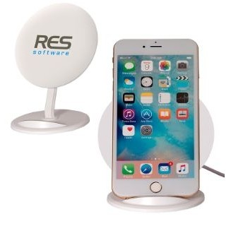 Wireless Phone Charger & Stand (Overseas)