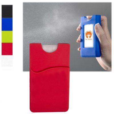 0.67 Oz. Silicone Wallet Sleeve w/Sanitizer