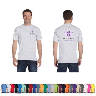 5.2 Oz. Hanes® Comfortsoft® Unisex Colored Cotton T-Shirt