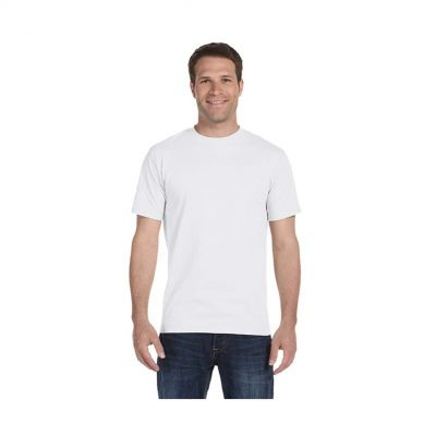 5.2 Oz. Hanes® Comfortsoft® Unisex White Cotton T-Shirt