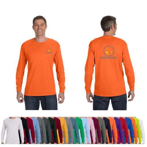 5.3 Oz. Gildan® Heavy Cotton™ Adult Colored Long-Sleeve T-Shirt