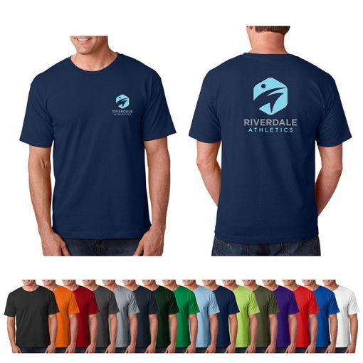 5.4 Oz. Bayside® Adult Colored 100% Cotton T-Shirt