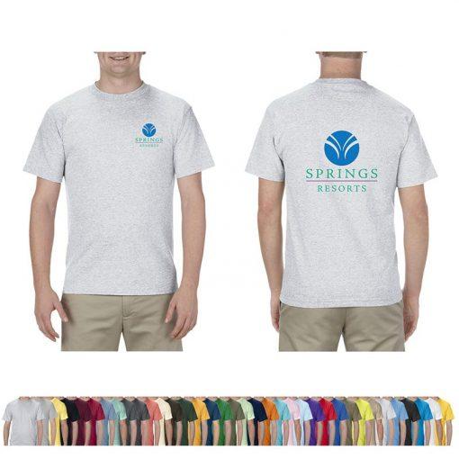 6.0 Oz. Alstyle® Adult Colored 100% Cotton T-Shirt