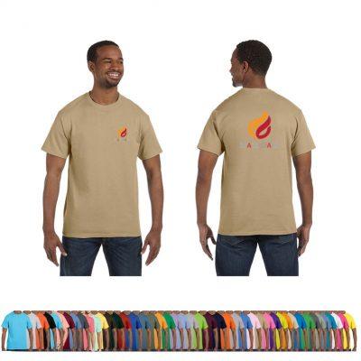 6.1 Oz. Hanes® Men's Colored Tagless® T-Shirt