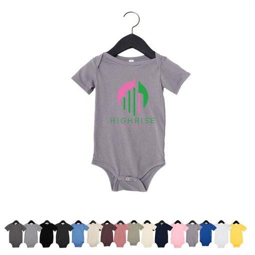 Bella+Canvas® Infant Jersey Short-Sleeve One-Piece