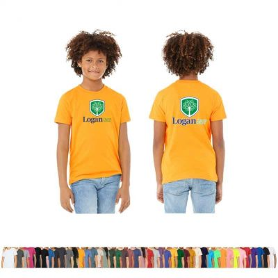 Bella+Canvas® Youth Jersey Short-Sleeve T-Shirt