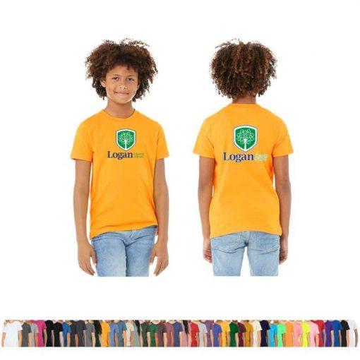 Bella+Canvas® Youth Jersey Short-Sleeve T-Shirt