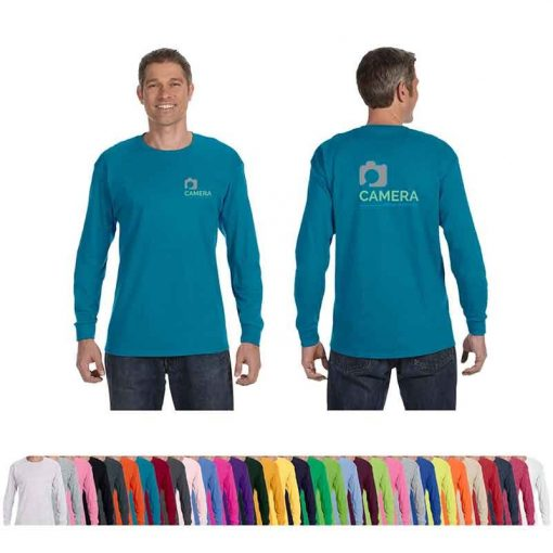 Jerzees® Adult 5.6 Oz. Dri-Power® Active Long-Sleeve T-Shirt