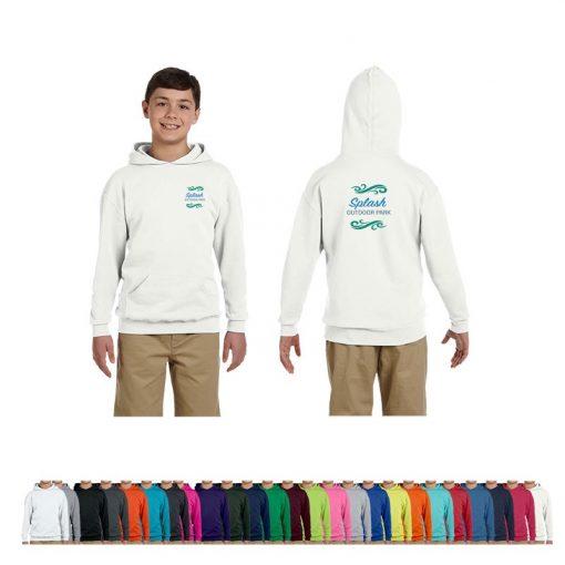 Jerzees® Youth 8 Oz. NuBlend® Fleece Pullover Hooded Sweatshirt