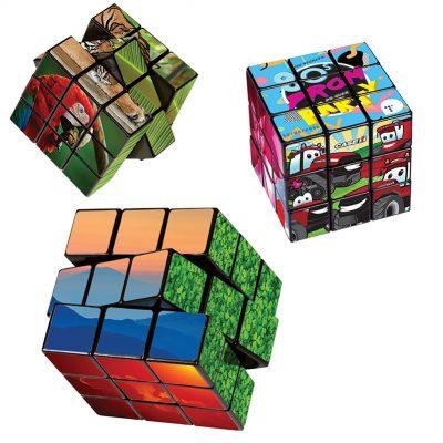 Rubik's® 9-Panel Custom Cube - SA Express™