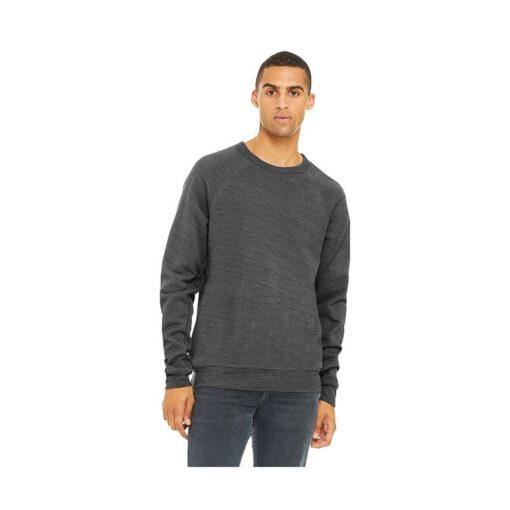 Bella+Canvas® Unisex Heather Sponge Fleece Crewneck Sweatshirt