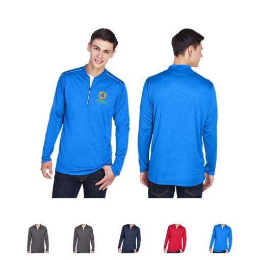 Core 365® Men's Kinetic Performance Quarter-Zip Shirt