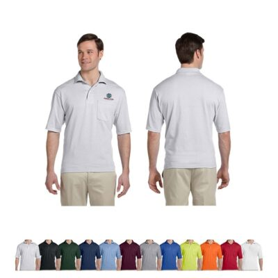 Jerzees® SpotShield™ Adult Pocket Jersey Polo Shirt