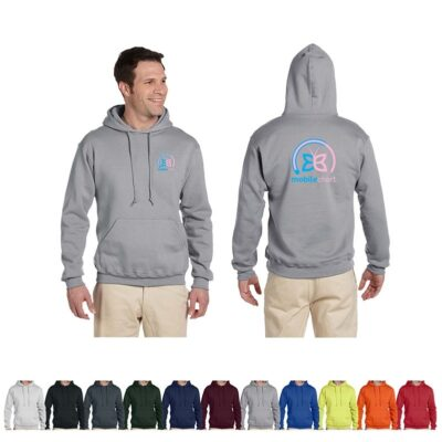 Jerzees® Super Sweats® NuBlend® Adult Fleece Pullover Hooded Sweatshirt