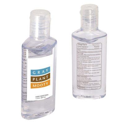 1 Oz. Hand Sanitizer w/Oval Bottle
