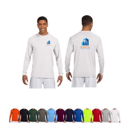 A4 Men's Cooling Performance Long Sleeve T-Shirt