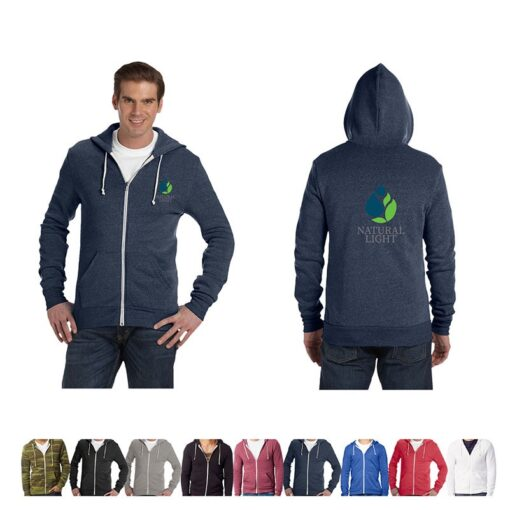 Alternative® Unisex Colored Rocky Eco-Fleece Zip Hoodie