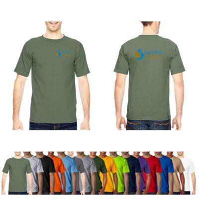 Bayside® Adult 6.1 Oz. 100% Cotton Dark T-Shirt