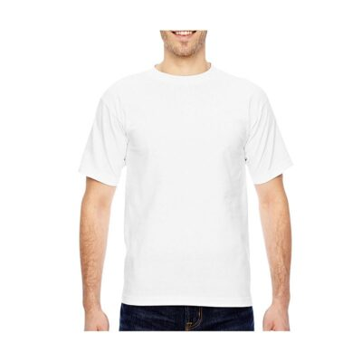 Bayside® Adult 6.1 Oz. 100% Cotton Neutral Color T-Shirt