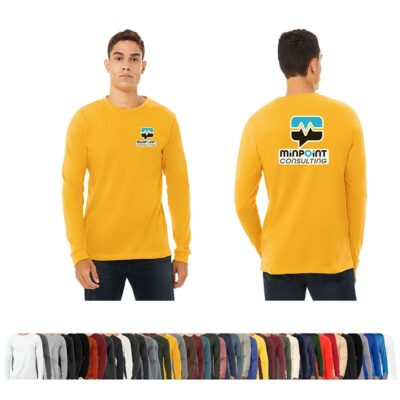Bella+Canvas® Unisex Colored Jersey Long Sleeve T-Shirt