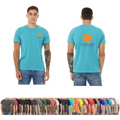 Bella+Canvas® Unisex Colored Poly-Cotton Short Sleeve T-Shirt
