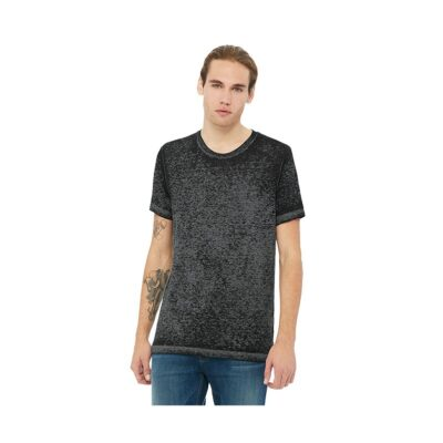Bella+Canvas® Unisex Marble & Acid Wash Poly-Cotton Short Sleeve T-Shirt