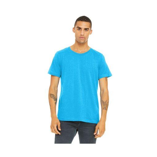 Bella+Canvas® Unisex Neon Poly-Cotton Short Sleeve T-Shirt