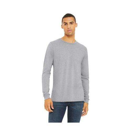 Bella+Canvas® Unisex Triblend Jersey Long Sleeve T-Shirt