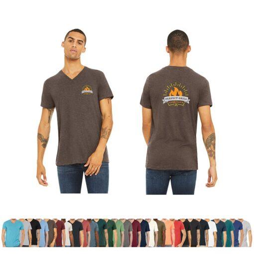 Bella+Canvas® Unisex Triblend Short Sleeve V-Neck T-Shirt