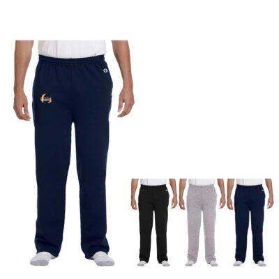 Champion® Adult Double Dry Eco Open-Bottom Fleece Pant w/Pockets