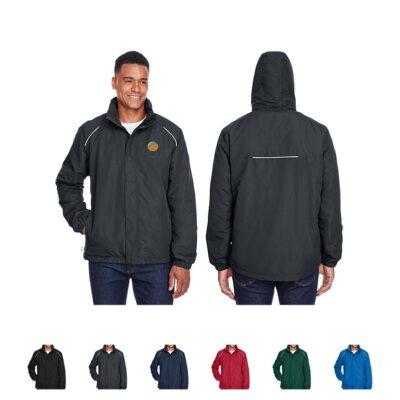 Core 365® Men's Profile Fleece-Lined All-Season Jacket