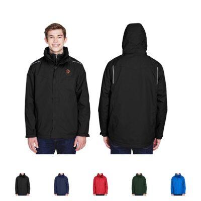 Core 365® Men's Region 3-in-1 Jacket w/Fleece Liner