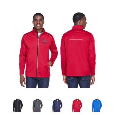 Core 365® Men's Techno Lite Three-Layer Knit Tech-Shell Jacket