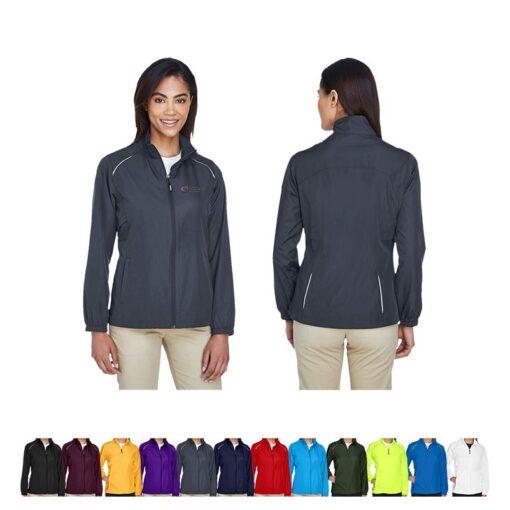 Core365® Ladies' Motivate Unlined Lightweight Jacket