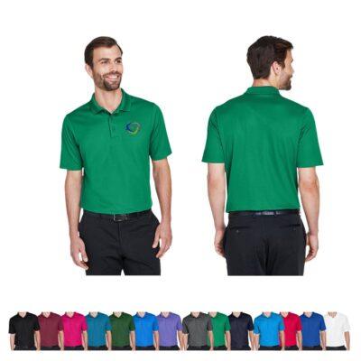 Devon & Jones® CrownLux Performance™ Men's Plaited Polo Shirt