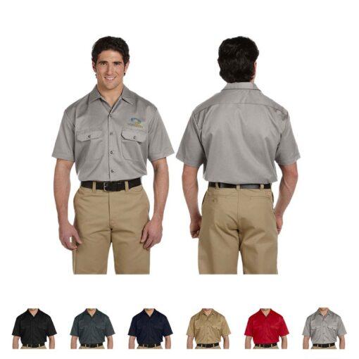 Dickies® Unisex Short-Sleeve Work Shirt