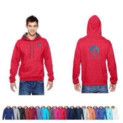 Fruit of the Loom® Adult Colored SofSpun Hooded Sweatshirt