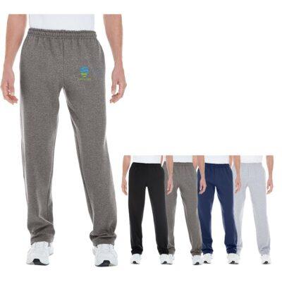 Gildan® Adult Heavy Blend Open-Bottom Sweatpants w/Pockets