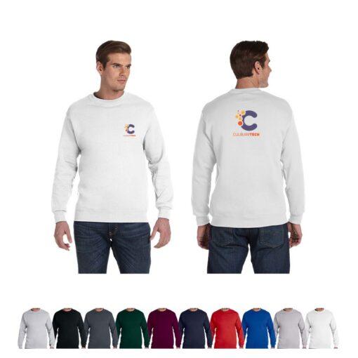Gildan® DryBlend® Adult Colored Fleece Long-Sleeved Crew Shirt