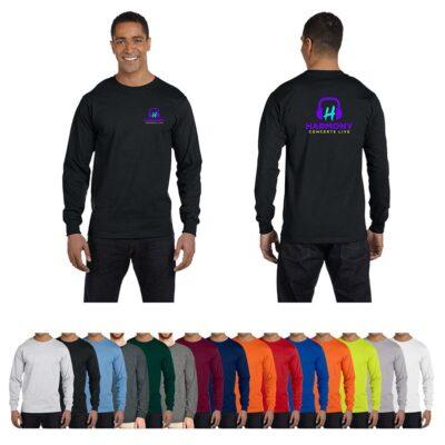Gildan® Dryblend® Colored Classic Fit Long Sleeve T-Shirt