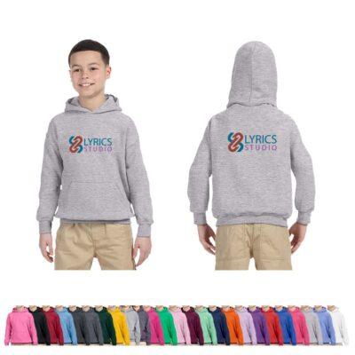 Gildan® Heavy Blend™ Youth Colored Hooded Sweatshirt