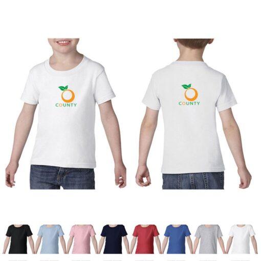 Gildan® Heavy Cotton™ Toddler Colored T-Shirt