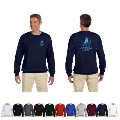 Hanes® Ultimate Cotton® Adult Colored Fleece Long-Sleeved Crew Shirt