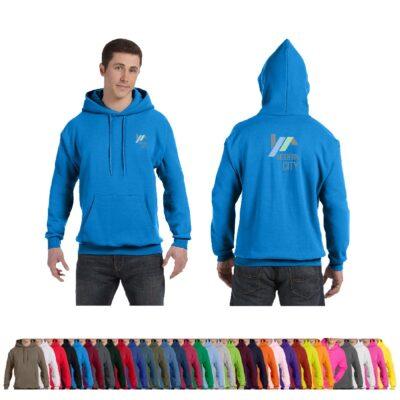 Hanes® Unisex 7.8 Oz. Ecosmart® 50/50 Pullover Hooded Color Sweatshirt