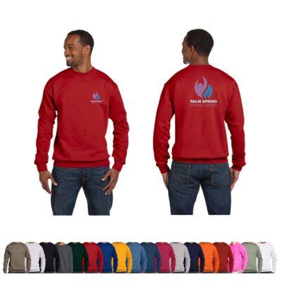 Hanes® Unisex 7.8 Oz. Ecosmart 50/50 Crewneck Color Sweatshirt