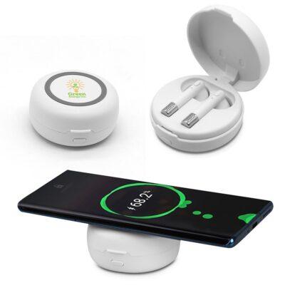 Harmony Wireless Earbuds & Charging Pad
