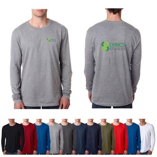 Next Level™ Men's Adult Premium Long Sleeve T-Shirt